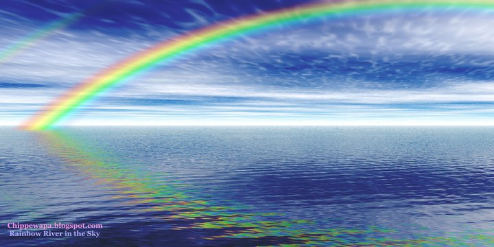 Rainbow River in the Sky