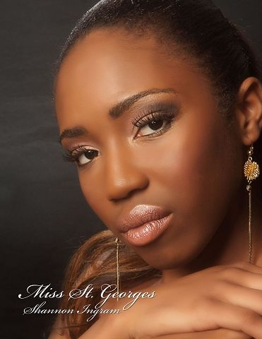 Miss Bermuda 2012 Saint Georges Shannon Ingram
