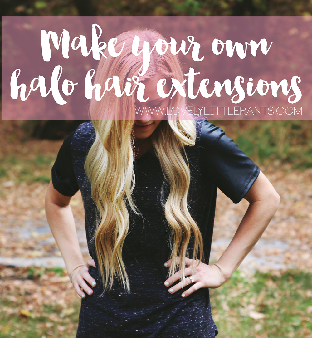 How To Make Your Own Hair Extensions Lovely Little Rants