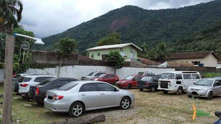 Estacionamento fechado do Espaco Ubatuba