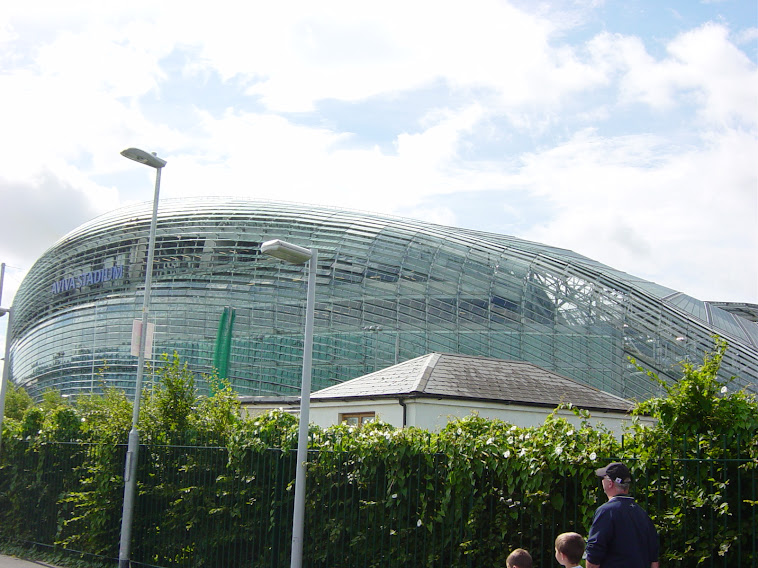 AVIVA STADIUM DUBLIN IRELAND