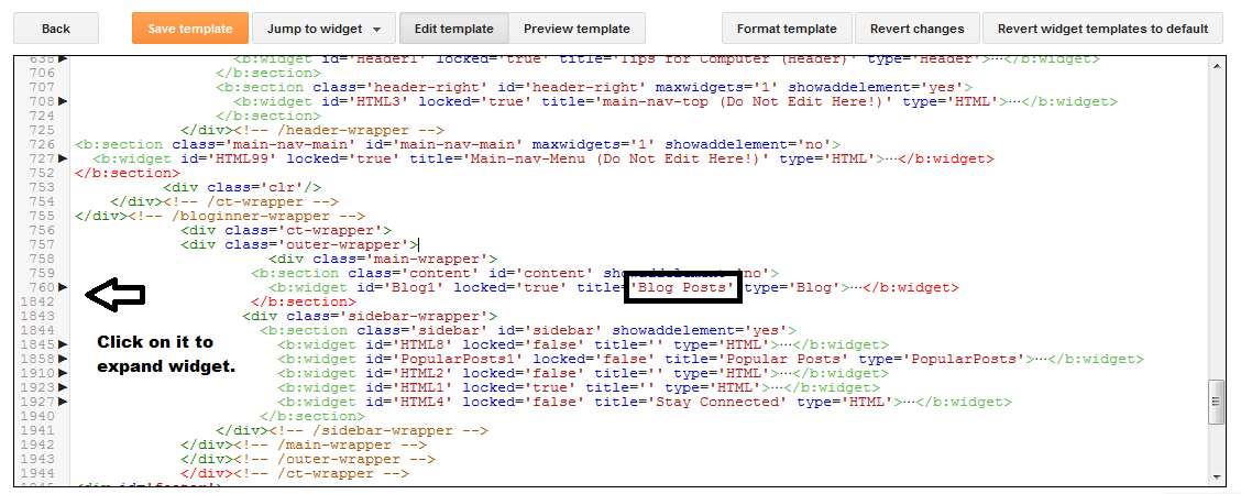 How to Edit CSS Codes in Blogger