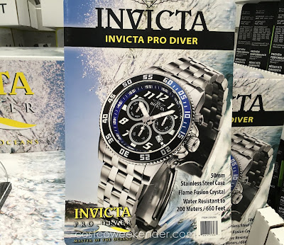 Accessorize and be stylish with the Invicta Pro Diver Men's Watch