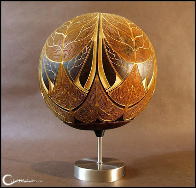 Creative and Cool Gourd Lamps (14) 13