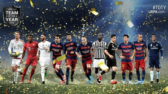 Time ideal UEFA 2015