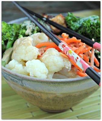 ... Kitchen: Brown Rice Bowl with Crispy Tofu, Veggies and Peanut Sauce
