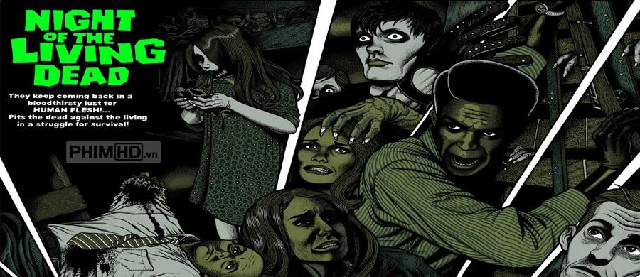 Phim Đêm Của Những Xác Chết VietSub HD | Night Of The Living Dead 1990
