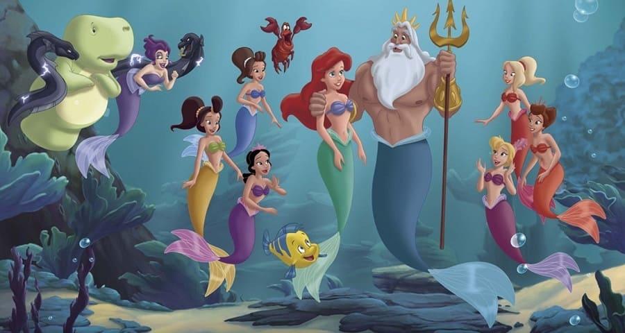 A Pequena Sereia - A História de Ariel 2008 Filme 1080p 720p BDRip Bluray FullHD HD completo Torrent
