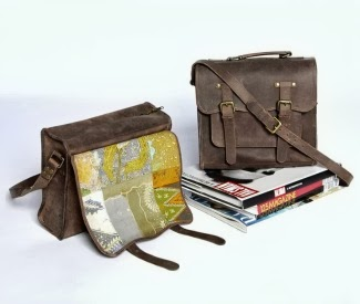 Sponsored Bag of the Week: Flights of Nancy Batik Satchel