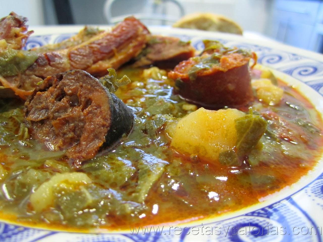 Pote asturiano o pote de berzas