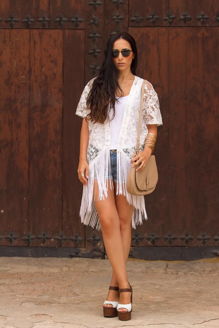 Blogger valenciana de moda - Look casual shorts vaqueros