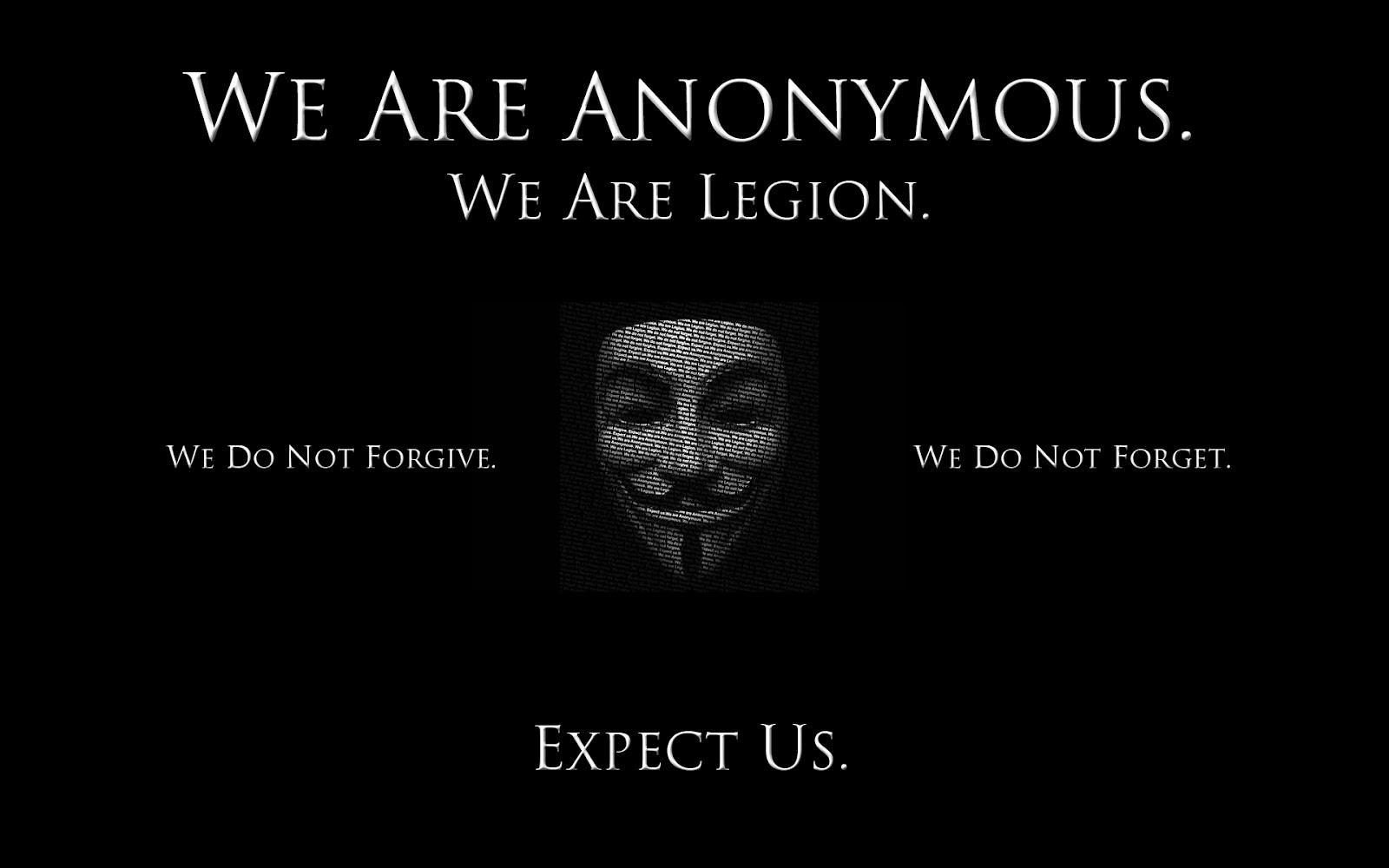 Um Melhor Esclarecimento da Ideia Anonymous