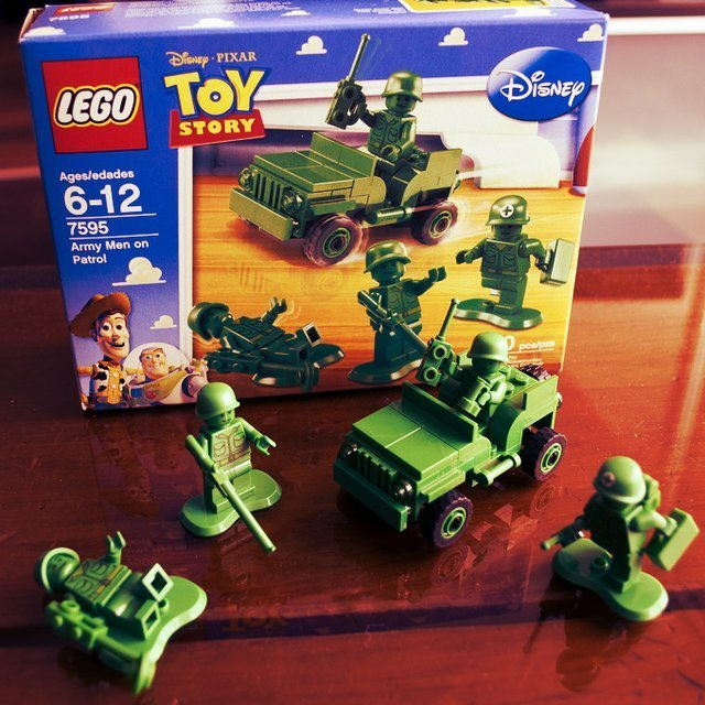 Cool Toy Army Men : Cool stuff lego toy story army men on patrol tng times