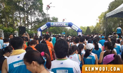 kl marathon 2013 start line