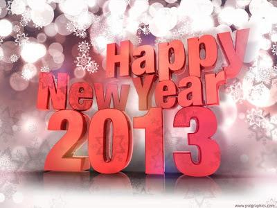 happy new year, 2013