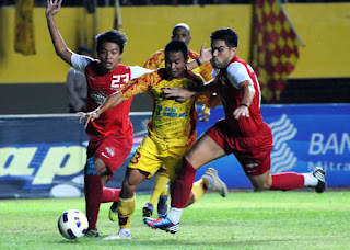 Hasil Pertandingan Sriwijaya FC vs ISL All Star