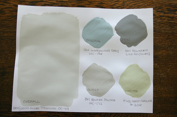 Some Like A Project: Choosing Paint Colors part I