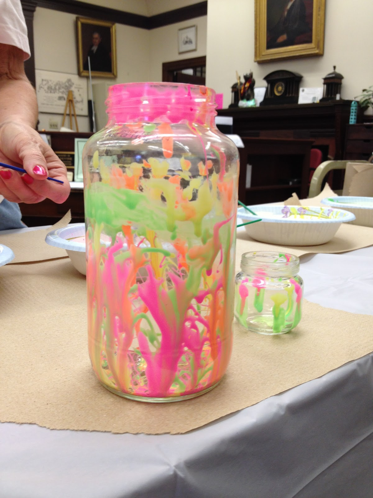 Books yarn ink and other pursuits the library Summer craft ideas for adults