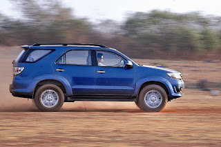 new toyota fortuner side view