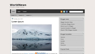 WorldNews Blogger Template