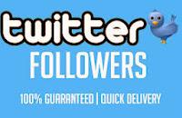 Cara cepat menambah Follower Twitter.