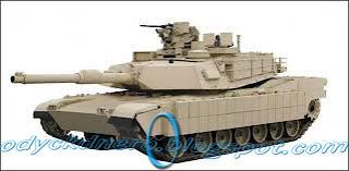 Tank M1A2 Abrams USA
