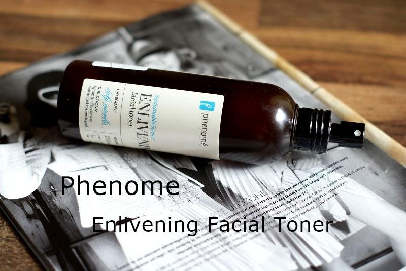 Odświeżający tonik do twarzy/Phenome