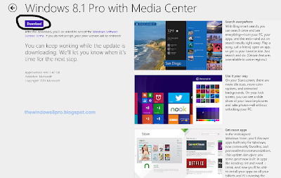 Update Windows 8 to Windows 8.1 RTM Free