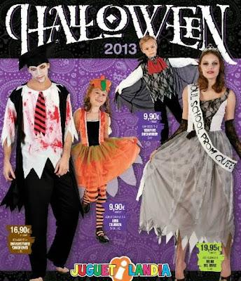 disfraces de halloween 2013 catalogo juguetilandia