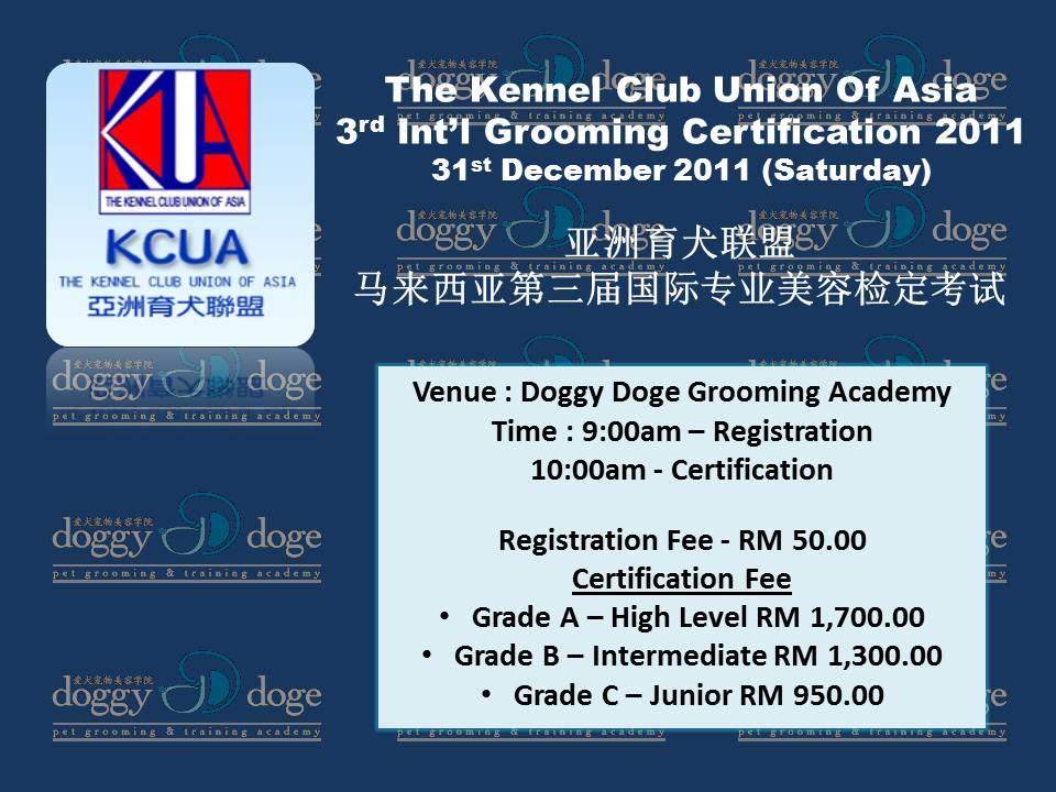 Doggydogemalaysia Pet Grooming Training Academy 2011