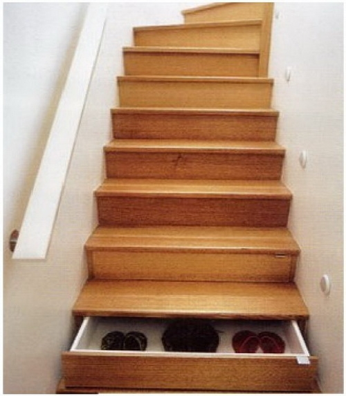 Number19design - Stairs that are drawers ...