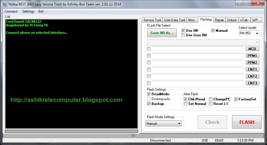 Nokia BB5 Easy Service Tool - Infinity Best v2.01 (Full Pack) [License ...