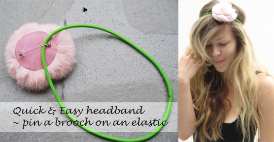 KBTs Runway to Realway: HEADBANDS All DAY, EVERY DAY!