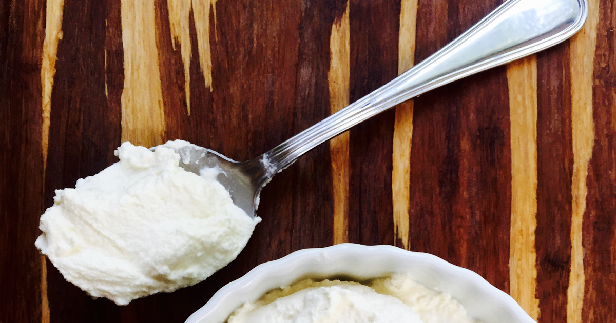 Easy, Creamy Homemade Ricotta