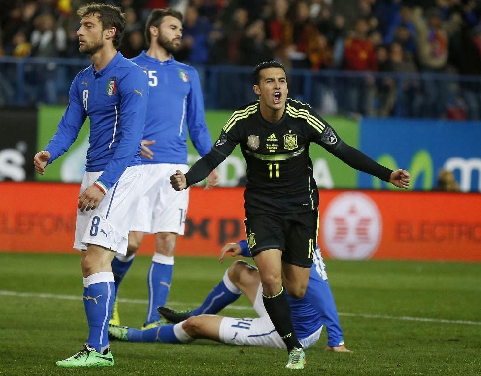 Spain Football Team 2014