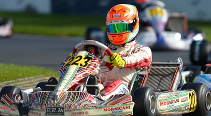 The 2016 Generation Ganassi Driver- Devlin Defrancesco.