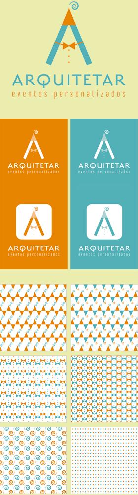 Criação de Identidade Visual para a empresa ARQUITETAR