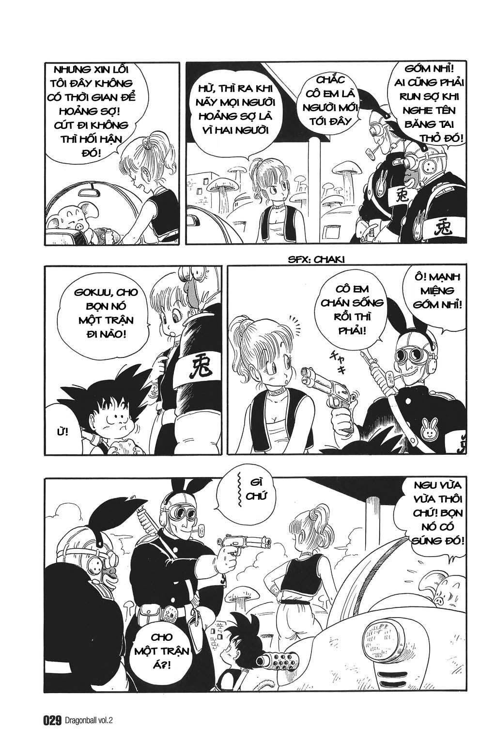 xem truyen moi - Dragon Ball Bản Vip - Bản Đẹp Nguyên Gốc Chap 16