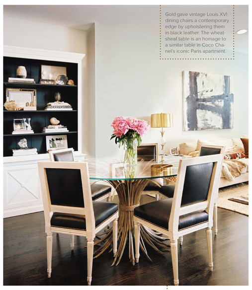 Black French Dining Room Table