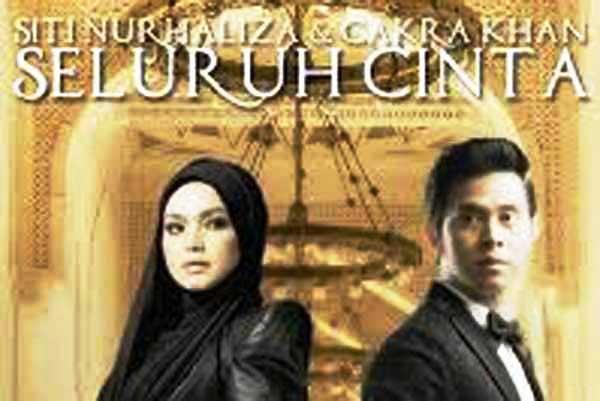 Lirik lagu Seluruh Cinta Siti Nurhaliza dan Cakra khan