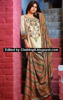 Feminine Winter Shawl Collection by Shariq
