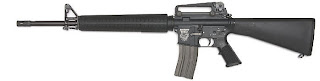 gas operated magazine fed assault rifle M16A3