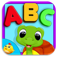 kids learning abc