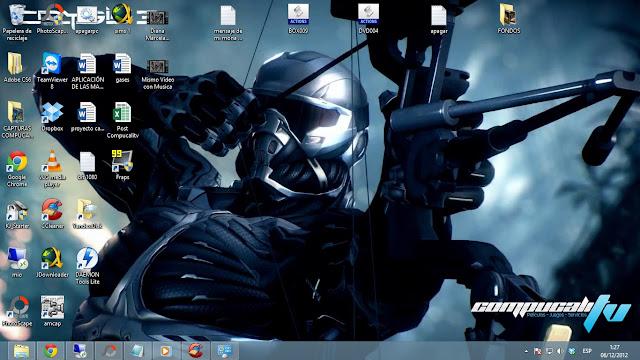 Imágenes Tema Crysis 3 para Windows 7