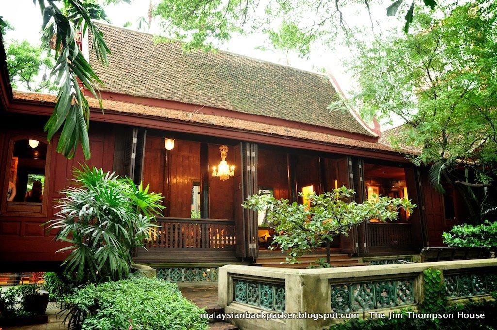 Malaysian Backpacker: The Jim Thompson House in Bangkok