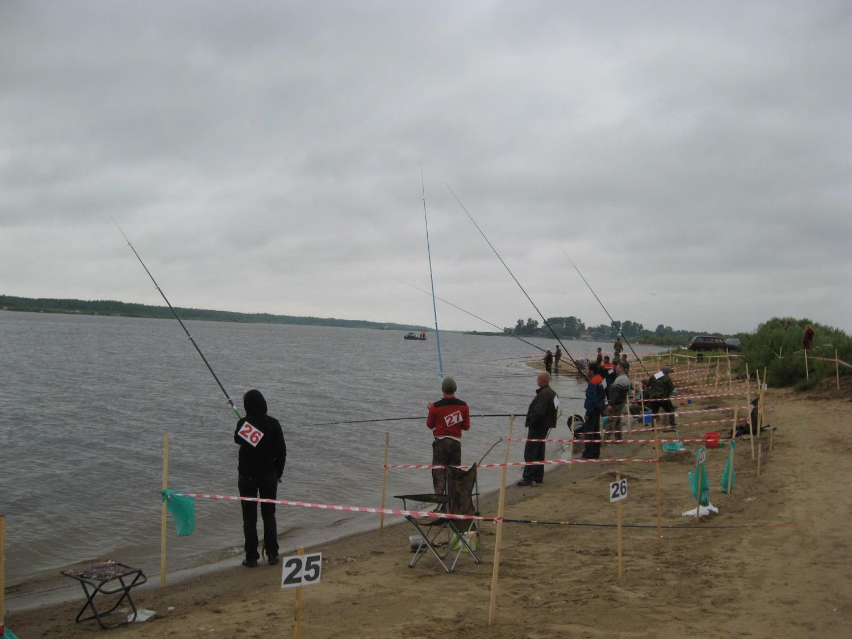 Рыболовные соревнования  на Кубене