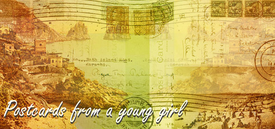 Postcards from a young girl