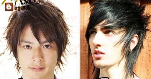 Harajuku Dan Emo Hair Style Model Rambut Pria Yang Paling Keren Serta