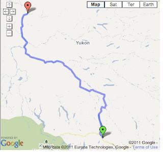 Yukon Alberta Travels Whitehorse To Dawson City Via Yukon River - Yukon river on us map