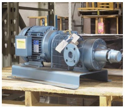 POSITIVE DISPLACEMENT ROTARY GEAR PUMP